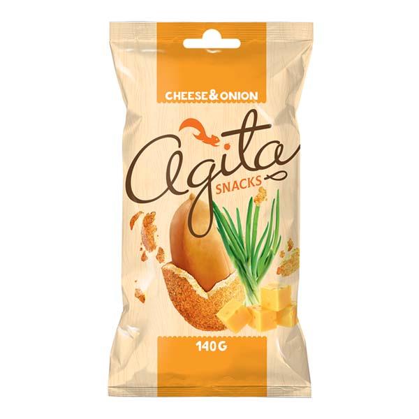 5425032883189 Zemesrieksti Agita Snacks ar sieru un sīpolu 140g KG 0.140