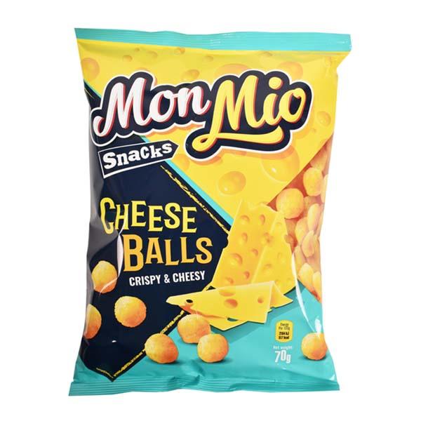 5425032886531 Kukurūzas bumb.MON MIO Cheese balls 70g KG 0.070