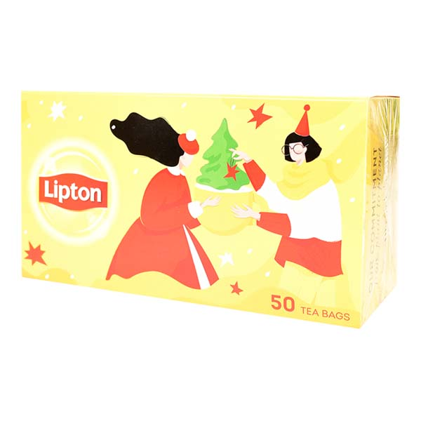 8711200461646 Tēja LIPTON YELLOW LABEL 50*2g KG 0.1